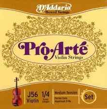 D'Addario J5614M Pro Arte Violin 1/4 Set Medium