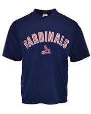 Vintage St. Louis Cardinals 90's Athletic Logo True Fan Mlb Baseball Jersey - L