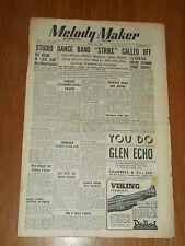 MELODY MAKER 1948 #768 APR 24 JAZZ SWING JACK WHITE SYDNEY LIPTON HARRY PARRY