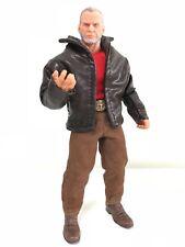 SU-JKM1-TN: Dark Brown Wired Short Jacket for Marvel Legends Mezco One:12