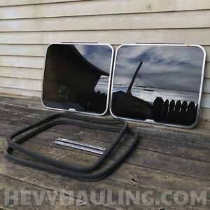 Complete Pop out Window Kit (rear) 75-91 Ford Van Econoline E100 E150 E250 E350