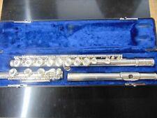 Emerson ELD Open Hole Sterling Silver Flute, USA #B27006