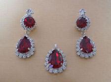 Screw Back (pierced) Crystal Oval Costume Earrings