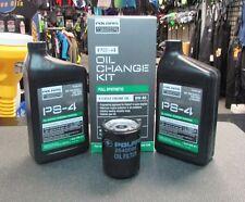 OEM Polaris PS-4 Oil Change Kit Full Syn 2202166 For Ace/Ranger/RZR/Sportsman