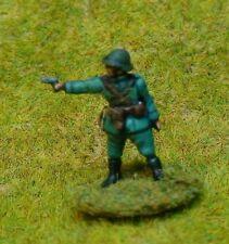 EWM Dutinf01 1/76 Diecast WWII Dutch Infantry Officer Firing Pistol