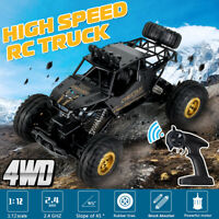 1:12 RC Car 4WD Remote Control Vehicle 2.4Ghz Electric Monster Truck Off-Road US