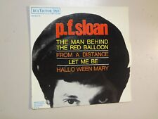 """P.F. SLOAN: Man Behind The Red Balloon +3-France 7"""" 66 RCA Victor 86.903 EP PCV"""