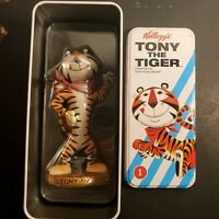 Kelloggs Tony The Tiger hand painted Figure and Tin limited run #12/35 vintage