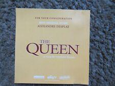 """ALEXANDRE DESPLAT (COMPOSER) """"THE QUEEN"""" 2006 OSCAR NOMINATION PROMO CD NM/NM"""
