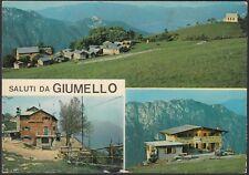 AA4986 Lecco - Provincia - Saluti da Giumello - Vedute - Cartolina - Postcard