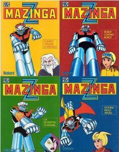 MAZINGA Z (Salani, 1979) Serie di 4 libri completa - Nuovi, mai letti