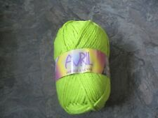 1 of Teddy Avril Double Chunky Green. 200g Yarn / Wool. Shade 4 150mtrs.
