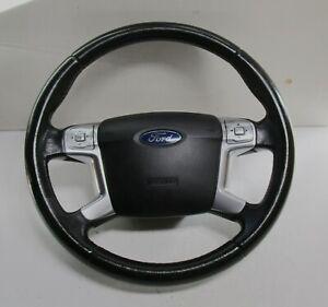 Ford Mondeo MK4 Airbaglenkrad Leder mit Modul Multifunktionslenkrad