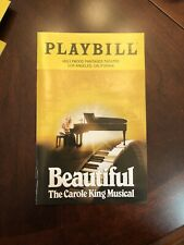 Beautiful The Carole King Musical Playbill HOLLYWOOD PANTAGES