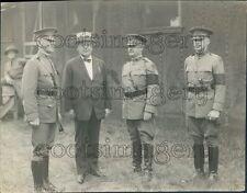 1923 US Army Major Gen Robert L Bullard in Uniform Bertrand Snell Press Photo