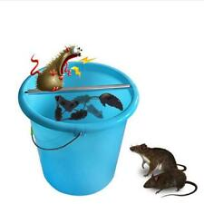 Mouse Rats Log Roll Into Bucket Spinning Mice Trap Stick Rodent Wipe Out Catch J