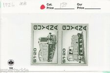 1987 Guyana Sc# 1826 ** MNH Locomotive postage stamps. Block of 4 (2 in image)