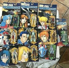 Robotech Action Figure Lot, Harmony Gold, 10 Unopened Figures 1985