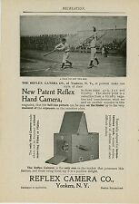1900 Reflex Camera Co. Ad Yonkers New York Baseball Game Photo Photography
