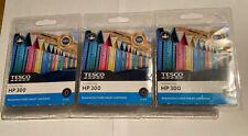 3 x Tesco HP 300 Black ink Cartridges - New