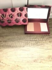 Urban Decay Naked Cherry Highlight & Blush Palette Trio 3 Shades New in Box