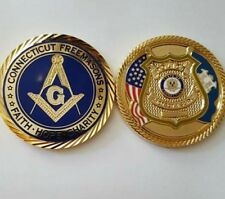 Connecticut Masonic Police challenge coin
