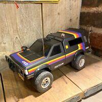 Retro 1983 YONEZAWA DATSUN 2WD/4WD TRUCK RV PICKUP 1/14 SCALE -RADIO CONTROLLED