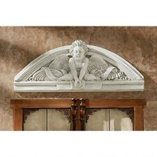 Center Guardian Angel Wall Pediment French Cherub Replica