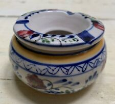 New listing Ashtray Ceramic Outdoor Indoor Smokeless Moroccan Marrakech Cigar Patio Cig