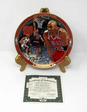 """Michael Jordan 1996 UD Bradford Exchange """"MVP"""" 1995-96 Season Collectors Plate"""