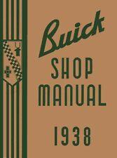 1938 Buick Service Shop Repair Manual Engine Drivetrain Electrical Factory OEM