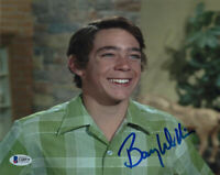 BARRY WILLIAMS SIGNED AUTOGRAPHED 8x10 PHOTO GREG THE BRADY BUNCH BECKETT BAS