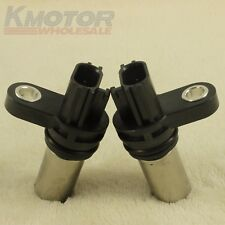 2pcs Crank Crankshaft & Cam Camshaft Position Sensor For Nissan 2.5L 23731-6N21A