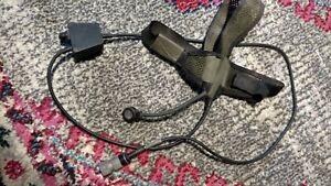 Thales Davies Harris MBITR headset, Mic, Ptt, 6pin
