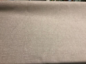 25 yard Roll Puma Oyster Upholstery Chenille Fabric