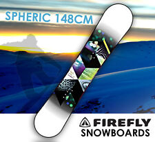 FIREFLY  SPHERIC SNOWBOARD 148cm Freestyle  Light Weight All-mountain All-terrai