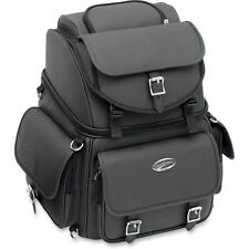Saddlemen BR3400EX motorcycle back seat sissy bar bag luggage Harley Honda BMW