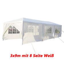 Partyzelt Gartenpavillon Festzelt Pavillon 3x3m 3x6m 3x9m Vereinszelt Bierzelt