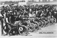 1921 BEVERLY HILLS CA HARLEY DAVIDSON-INDIAN MOTORCYCLE BOARD TRACK RACING PHOTO