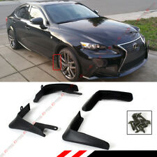 4 PCS FRONT & REAR SPLASH GUARD MUD FLAP FOR 2014-2016 LEXUS IS250/350/200T/300