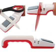 Cuchillo Profesional + hoja de tijera Afilador cuchillo Rodillo & Stone Cocina Nuevo