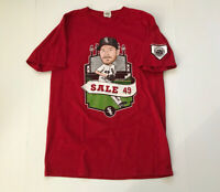 RARE Chicago White Sox Chris Sale Shirt SGA Stadium Giveaway
