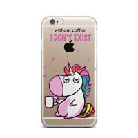 Unicorn iPhone XS Max Silicone Case iPhone X XR Rubber Gel Cover iPhone 7 8 Plus