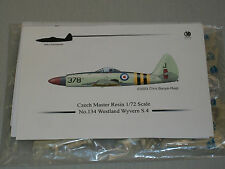 Czech Master Resin 1:72 Scale British Westland Wyvern S.4