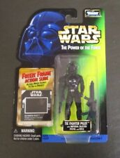 Tie Fighter Pilot 1998 STAR WARS Power of the Force POTF FF Freeze Frame