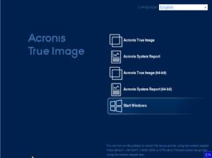 Acronis True Image 2021 ISO Bootable