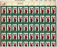 SCOTT# 1472 - THE NIGHT BEFORE CHRISTMAS - PANE OF 50 X 8 Cents 1972 STAMPS, MNH