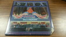STYX*PARADISE THEATRE*LP RECORD W/LASER ETCHED SIDE 2 VG+/VG A&M SP 3719