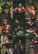 Conan the Barbarian - Arnold Schwarzenegger Preview Card Set 9 Cards #018/999