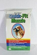 Four Paws Quick - Fit Muzzle Medium Breed Size 2 Black